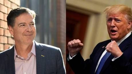Get your popcorn? Trump & Comey to face off.in TV drama series