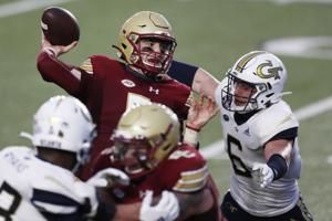 Jurkovec, BC roll over Georgia Tech 48-27