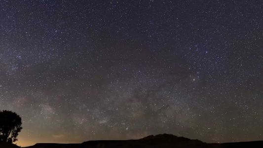 Gorgeous Milky Way views from El Malpais National Monument