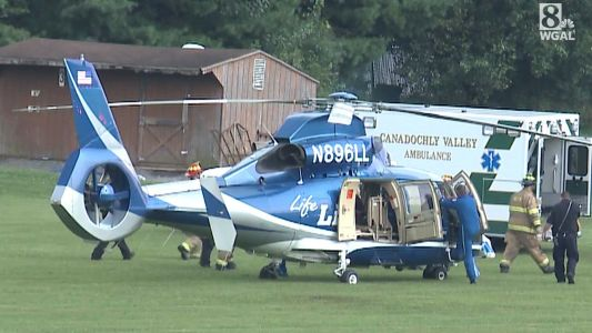 Person had to be airlifted after accident