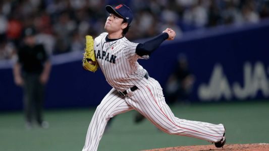 Japan rallies past MLB All-Stars, clinches series win