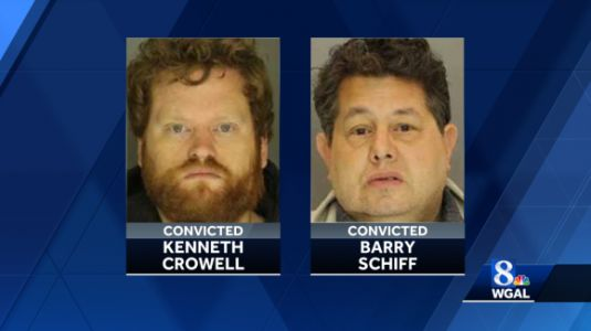 Two men convicted of sex trafficking in four Pa. counties