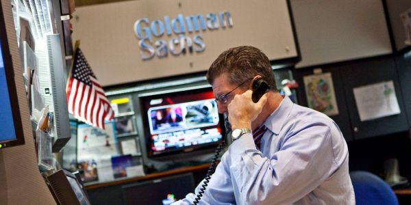Goldman Sachs' 1st-quarter earnings beat forecasts on strong investment-banking and trading revenue