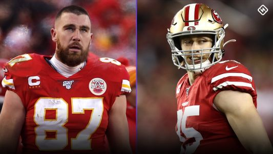 George Kittle or Travis Kelce? The NFL's best tight end debate is more one-sided than you think