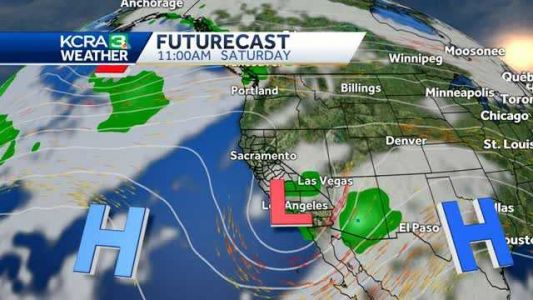 Clouds, warmer temps and chance showers in the forecast