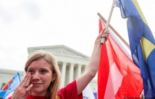 People react to the Supreme Court's historic same-sex