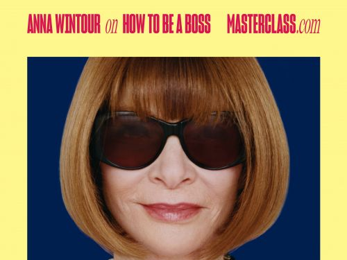 Tech startup MasterClass is trying to move beyond its social media roots, so it's launching a massive new campaign starring Anna Wintour