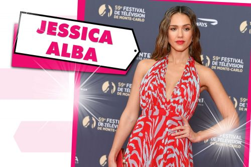 Jessica Alba took the plunge in a $5,600 print look