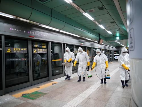 South Korea reported a record 800 new cases of coronavirus in a single day - and the vast majority are linked to a religious cult