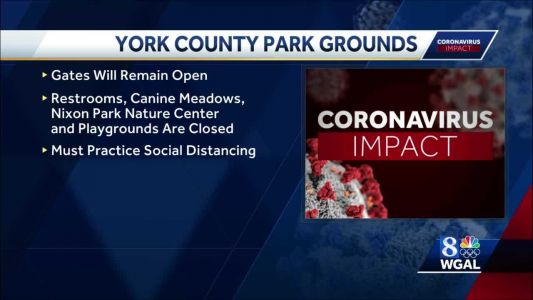 York County parks will remain open during Gov. Wolf's Stay-At-Home order