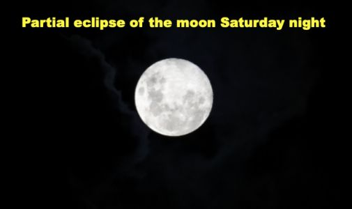 Belski's Blog - Eclipse of the moon Saturday night