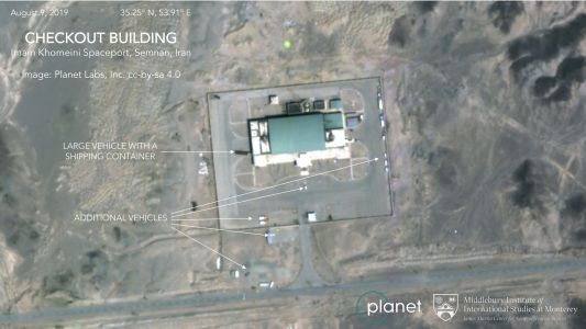 Satellite images suggest upcoming Iran rocket launch