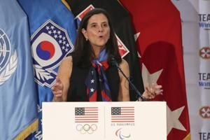 US Olympic marketing chief Lisa Baird is NWSL commissioner