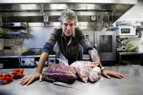 Anthony Bourdain's possessions to be auctioned off online