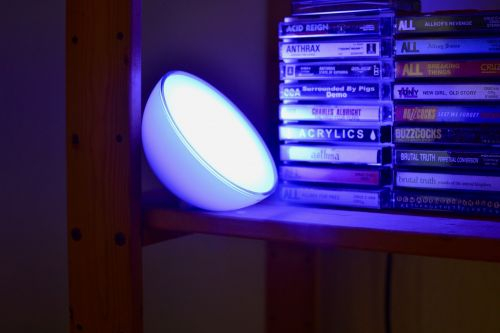 Keep your Philips Hue Go charged away from the outlet with this charger