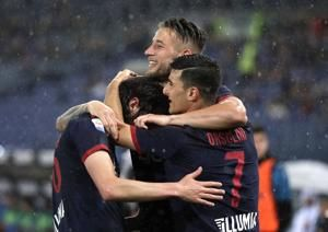 Bologna draws 3-3 at Lazio to secure Serie A safety