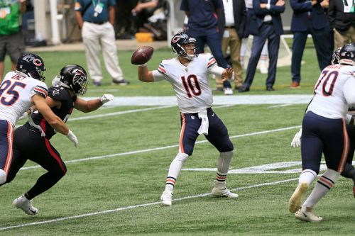 Mitchell Trubisky to start for the Bears against the Packers on Sunday