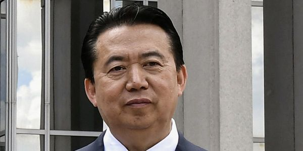 China detained the vanished president of Interpol one month ago - and his wife fears he's dead