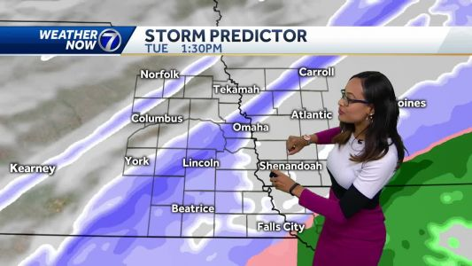 Updating snow totals Tuesday afternoon, more cold air this week