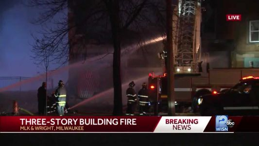 POLICE: Multiple-unit building catches fire near MLK and Wright