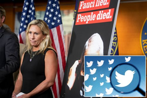 Twitter suspends Rep. Marjorie Taylor Greene over 'misleading' COVID info