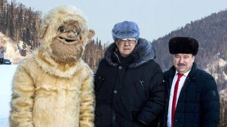 Russian YETI HOAX? Siberian governor made officials dress up as BIGFOOT in hopes of tourist boom
