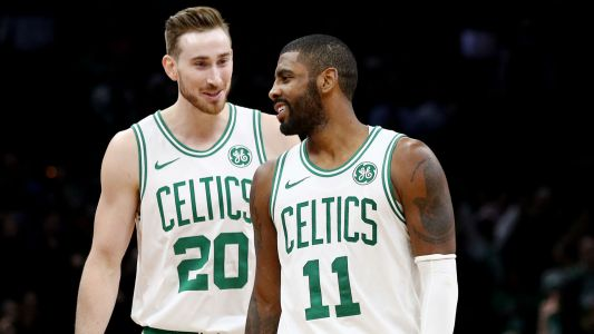 Celtics' Gordon Hayward wishes Kyrie Irving 'the best of luck' with Nets