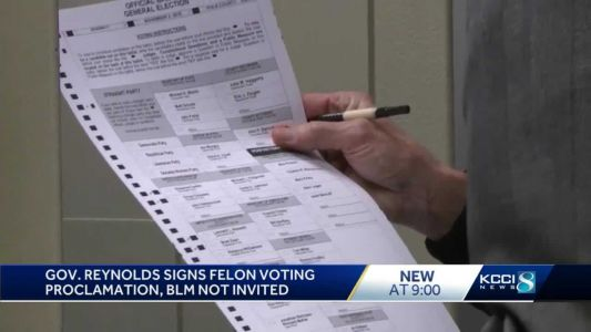 Des Moines BLM turns focus to getting people registered to vote
