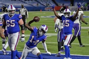Bills' Diggs among NFL elite receiving company this weekend