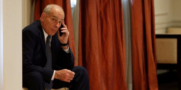 John Kelly reportedly took notes on Jared Kushner and Ivanka Trump and left them on his desk in full view