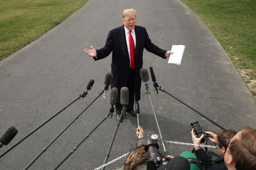 Trump on Mueller report: 'Let it come out'