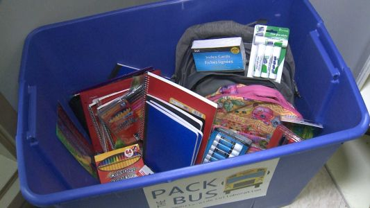 Donation drive hopes to 'Pack the Bus' for southern Indiana students in need