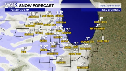Messy weather system brings snow overnight, turns to wintry mix Friday and Saturday