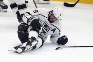 LA Kings D Drew Doughty out 8 weeks with bruised right knee