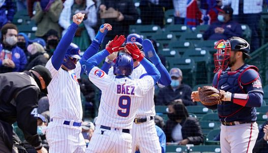 After a difficult stretch, the Cubs' offense erupts in a win over Atlanta