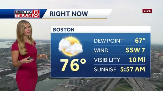 Video: Damaging winds, downpours possible