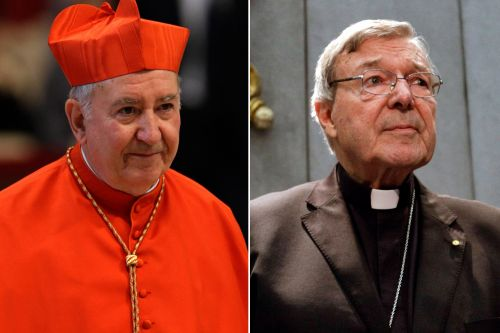 Pope cans cardinals named in sex abuse scandals from his cabinet