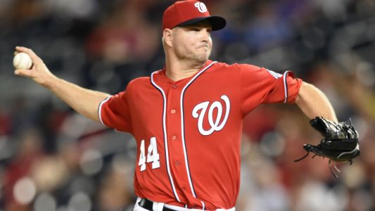 Reds manager Jim Riggleman on Nationals' Ryan Madson: 'It infuriates me he'll never have to go to the plate and be thrown at'