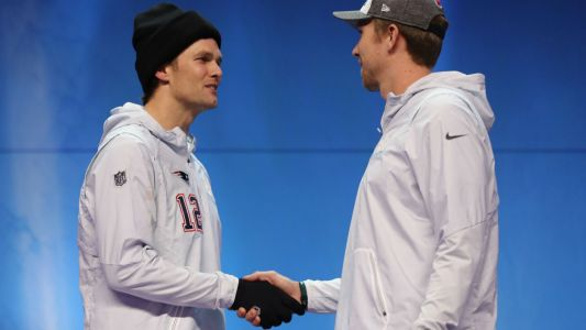 Nick Foles Respects Tom Brady, Isn't Upset by Lack of Handshake After Super Bowl