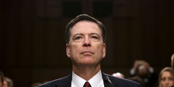 James Comey urged people to 'use every breath we have' to stop Trump from getting reelected in 2020