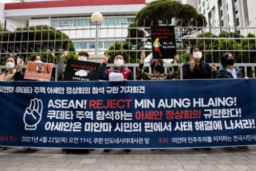 The People of Myanmar Have Rejected the Generals. ASEAN and the World Must Do so as Well