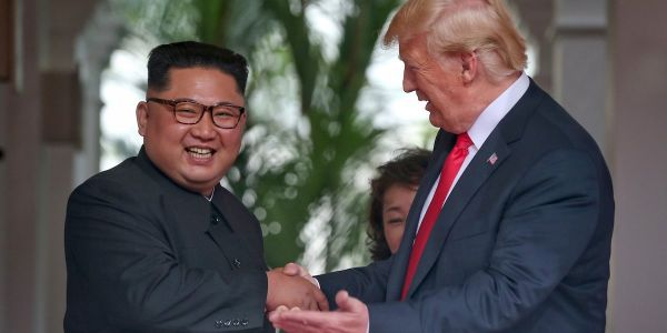 Trump says he 'trusts' Kim Jong Un and has 'good chemistry' with him