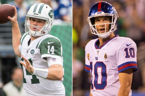 Sam Darnold, Eli Manning trend in shockingly different directions