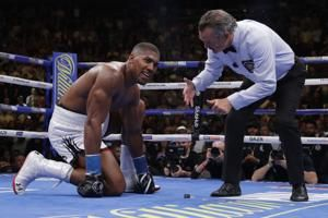 AP Interview: Joshua out to regain aura, belts in rematch