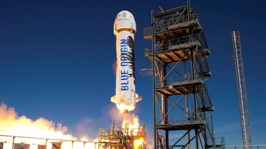 Watch live: Jeff Bezos and Blue Origin are launching a rocket that could make way for space tourist flights this year