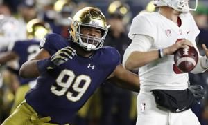 Chargers take Notre Dame DT Jerry Tillery with 28th pick in NFL draft