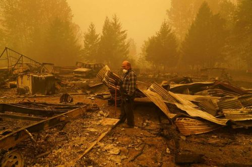 22 people are missing in the West Coast wildfires, but it's too dangerous to search for them
