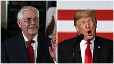 Donald Trump Calls Rex Tillerson 'Dumb As A Rock' In Not-At-All Defensive Tweet