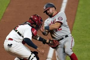 Schwarber debuts, leads Nats over Cardinals 5-2