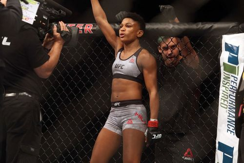 Before UFC Fight Night 186 rematch, Ashley Yoder recalls being Angela Hill's 'hype man'